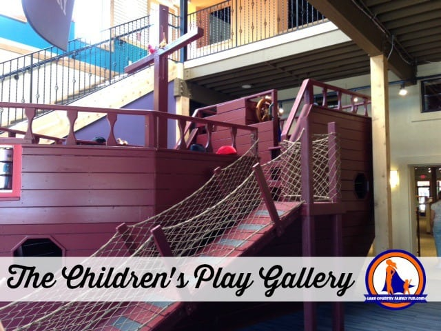 The Children's Play Gallery is OPEN!!!