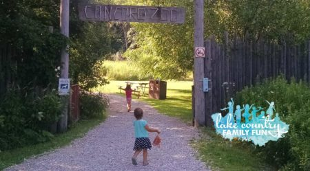 Concord Zoo July 2016 LCFF Lake Country Family Fun Hidden Gem