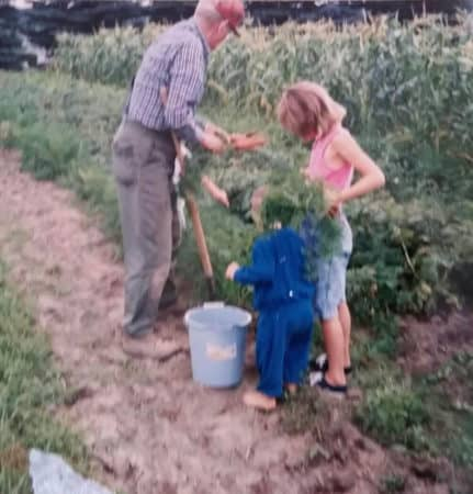 Gardening for Newbies Martha Grandpa Lake Country Family Fun