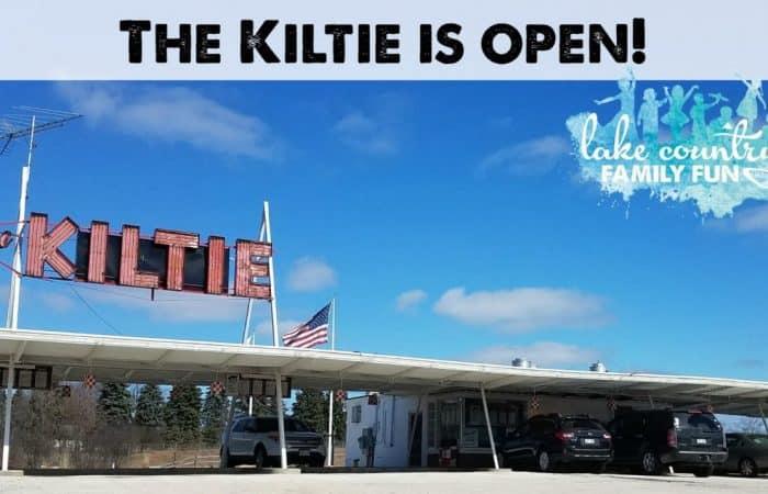 The Kiltie is Open Oconomowoc Ice Cream Custard Bonnie Bell Summer Kids Lake Country Family Fun