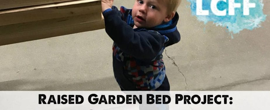 My Raised Garden Bed Project: Construction Lake Country Family Fun Staying Martha