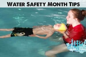 British Swim School Comes to Wisconsin - Review & Deal Water Safety Month Tips Lake Country Family Fun